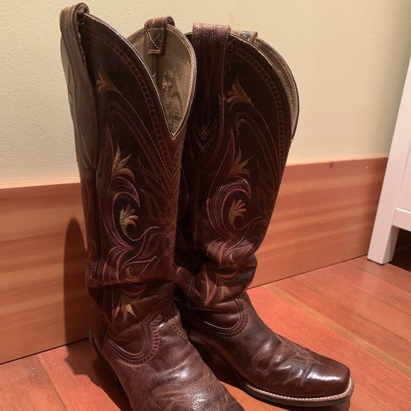 Lariat Cowgirl Riding Boots